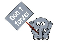 elephant dont forget